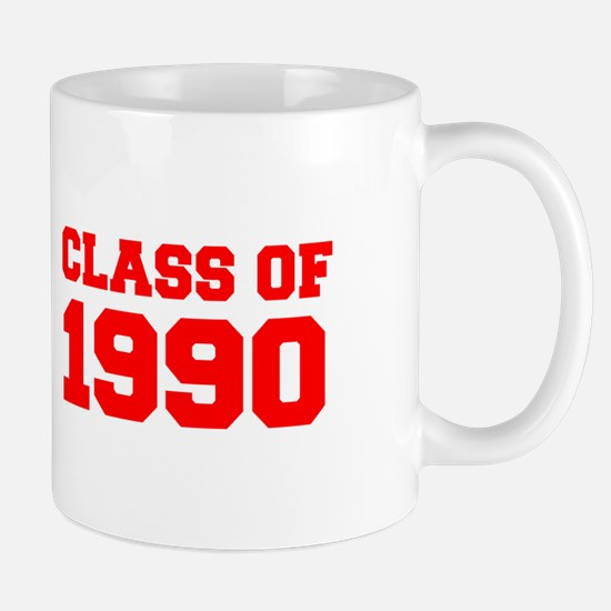 CLASS OF 1990-Fre red 300 Mugs