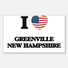 I love Greenville New Hampshire Decal