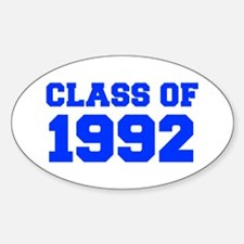 CLASS OF 1992-Fre blue 300 Decal