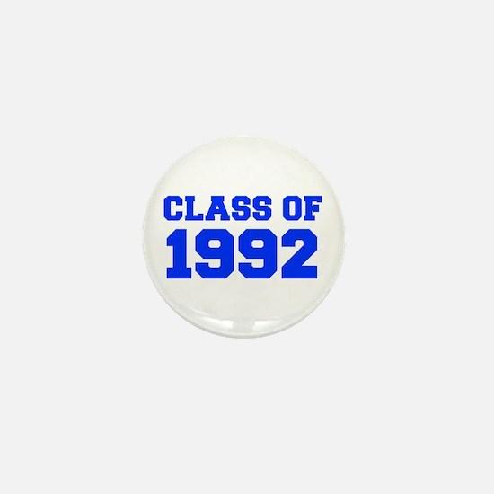 CLASS OF 1992-Fre blue 300 Mini Button