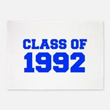CLASS OF 1992-Fre blue 300 5'x7'Area Rug