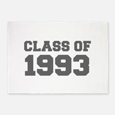CLASS OF 1993-Fre gray 300 5'x7'Area Rug