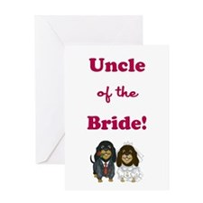 UNCLE of the BRIDE Greeting Card