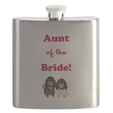 AUNT of the BRIDE Flask