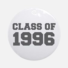 CLASS OF 1996-Fre gray 300 Ornament (Round)