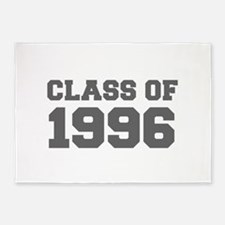 CLASS OF 1996-Fre gray 300 5'x7'Area Rug