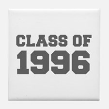 CLASS OF 1996-Fre gray 300 Tile Coaster