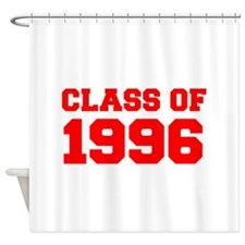CLASS OF 1996-Fre red 300 Shower Curtain