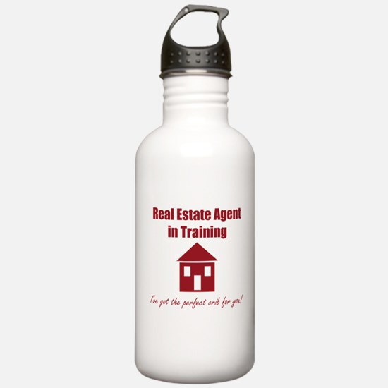 Real Estate Agent in T Water Bottle