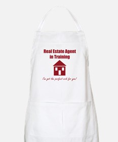 Real Estate Agent in Training Apron