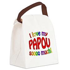 I love my PAPOU soooo much! Canvas Lunch Bag
