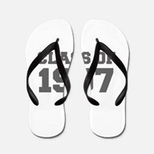 CLASS OF 1997-Fre gray 300 Flip Flops