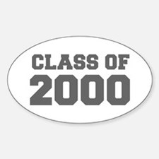 CLASS OF 2000-Fre gray 300 Decal
