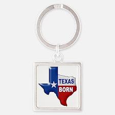 TEXAS BORN Keychains