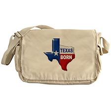 TEXAS BORN Messenger Bag
