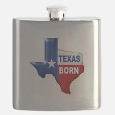 TEXAS BORN Flask