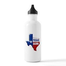 TEXAS BORN Water Bottle