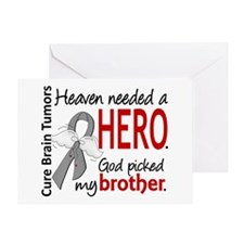 Brain Tumor HeavenNeededHero1 Greeting Card