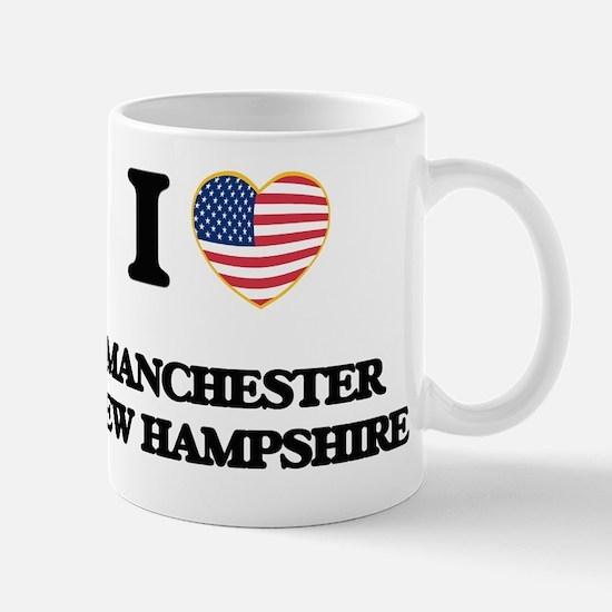 I love Manchester New Hampshire Mug