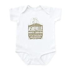 Vintage Asheville Infant Bodysuit