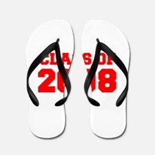 CLASS OF 2008-Fre red 300 Flip Flops