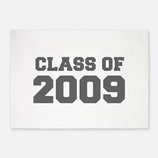 CLASS OF 2009-Fre gray 300 5'x7'Area Rug