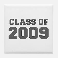 CLASS OF 2009-Fre gray 300 Tile Coaster