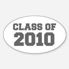 CLASS OF 2010-Fre gray 300 Decal