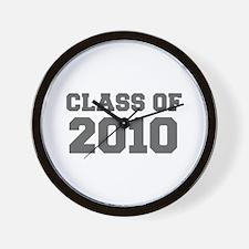 CLASS OF 2010-Fre gray 300 Wall Clock