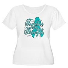 Gynecologic Cancer Together Plus Size T-Shirt
