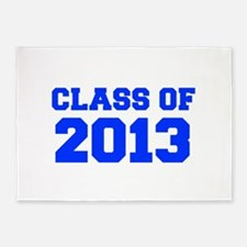 CLASS OF 2013-Fre blue 300 5'x7'Area Rug