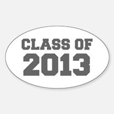 CLASS OF 2013-Fre gray 300 Decal