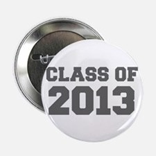 """CLASS OF 2013-Fre gray 300 2.25"""" Button (10 pack)"""