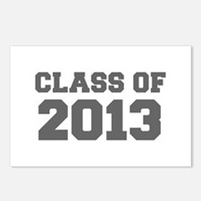 CLASS OF 2013-Fre gray 300 Postcards (Package of 8