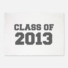 CLASS OF 2013-Fre gray 300 5'x7'Area Rug
