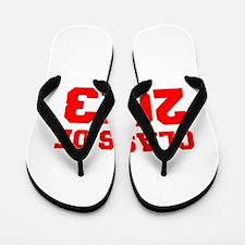 CLASS OF 2013-Fre red 300 Flip Flops