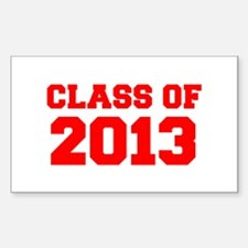 CLASS OF 2013-Fre red 300 Decal