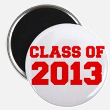 CLASS OF 2013-Fre red 300 Magnets