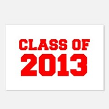 CLASS OF 2013-Fre red 300 Postcards (Package of 8)