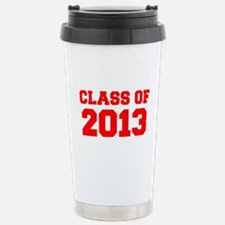 CLASS OF 2013-Fre red 300 Travel Mug