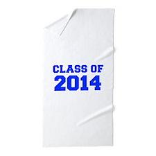 CLASS OF 2014-Fre blue 300 Beach Towel