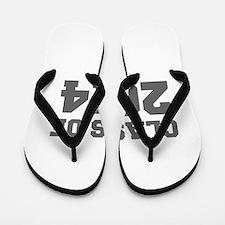 CLASS OF 2014-Fre gray 300 Flip Flops