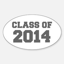 CLASS OF 2014-Fre gray 300 Decal
