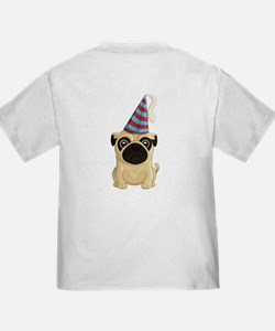 Party Pug Double-Sided T
