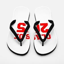 CLASS OF 2015-Fre red 300 Flip Flops