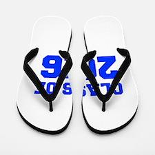 CLASS OF 2016-Fre blue 300 Flip Flops