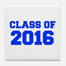 CLASS OF 2016-Fre blue 300 Tile Coaster