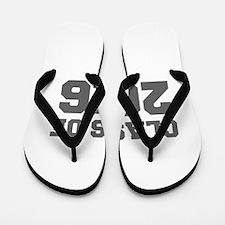 CLASS OF 2016-Fre gray 300 Flip Flops