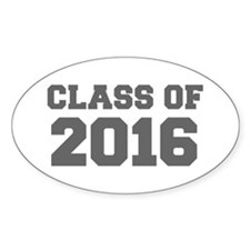 CLASS OF 2016-Fre gray 300 Decal