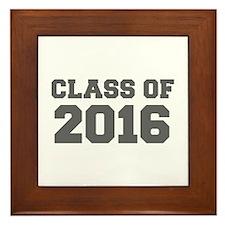 CLASS OF 2016-Fre gray 300 Framed Tile